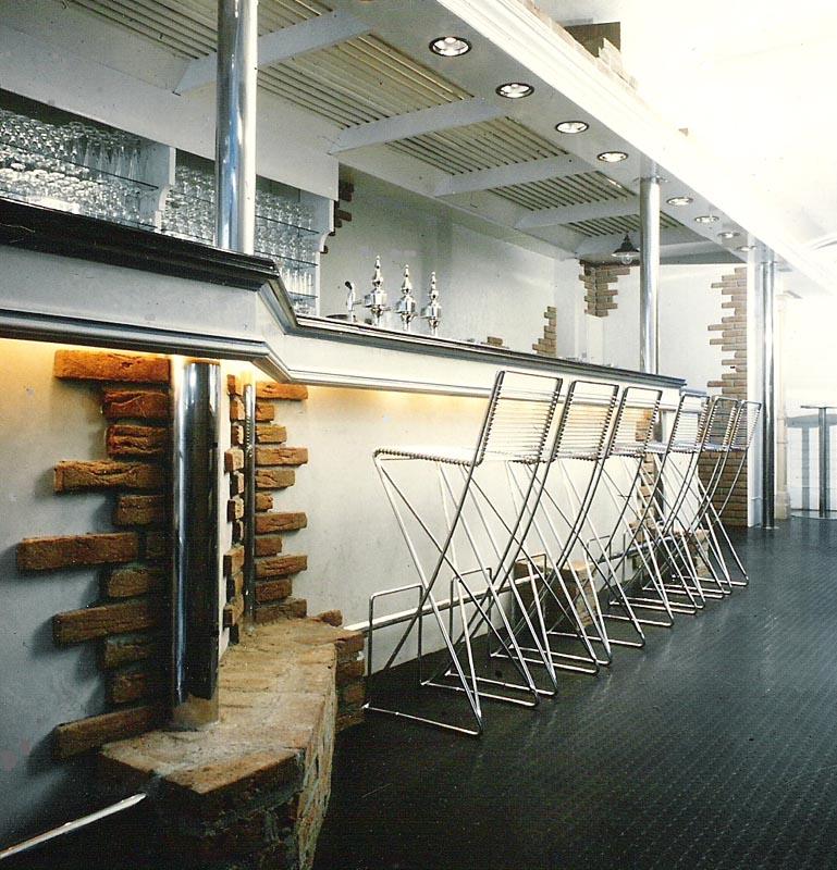 restaurant backstein 1. Black Bedroom Furniture Sets. Home Design Ideas